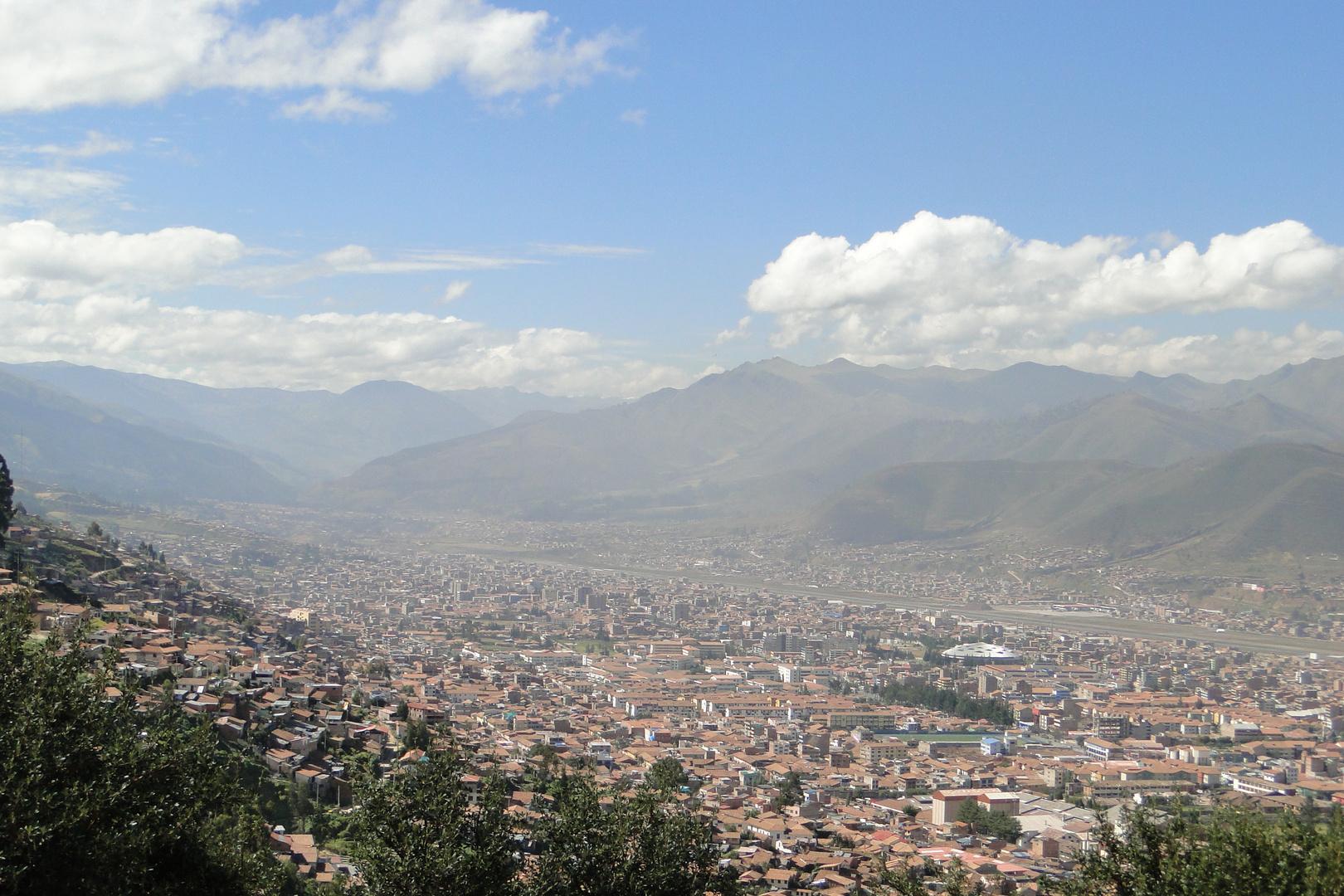 Cuzco, in 3200 m Hoehe