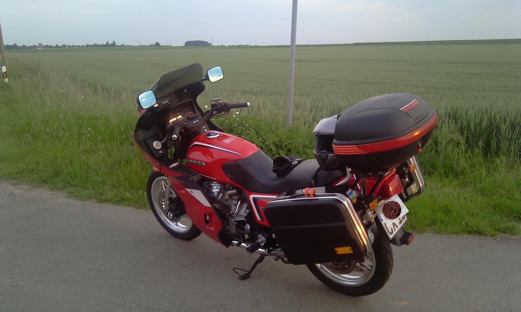 CX 500 Euro mit Pichler Vollverkleidung