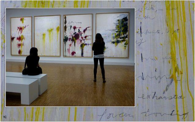 Cy Twombly, rétrospective à Paris... # 2
