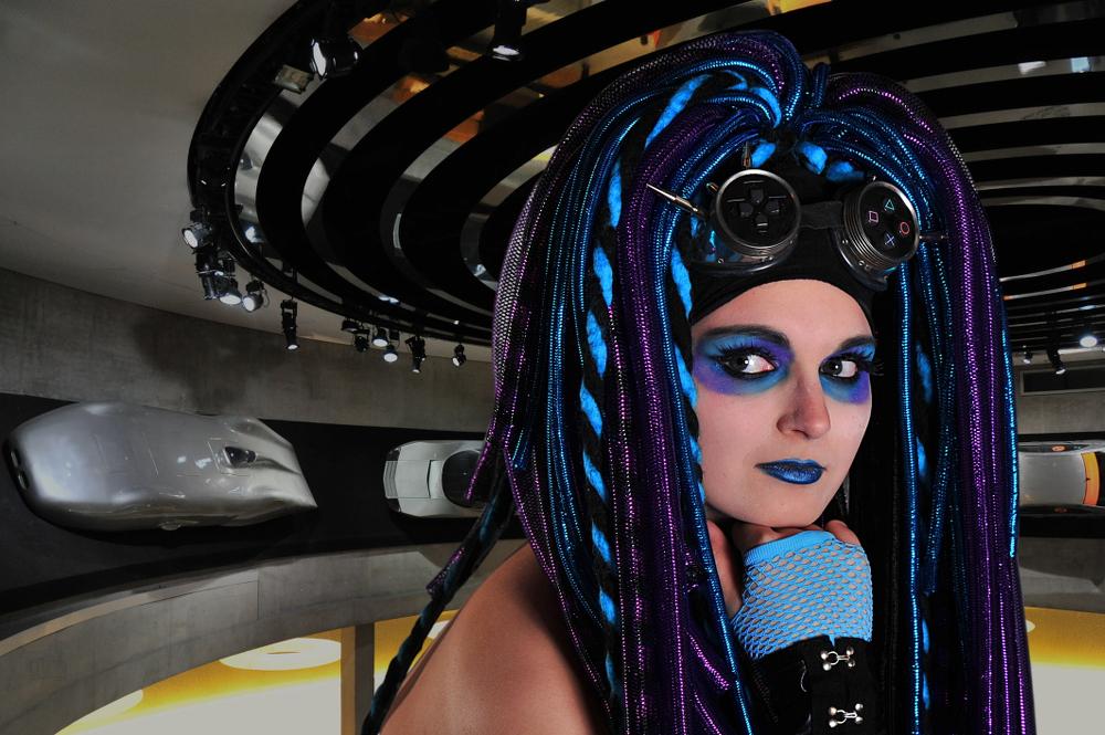 Cybergirl in der Zukunft