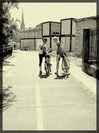 Cyclistes.