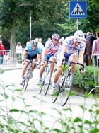 cyclng in Oostvoorne