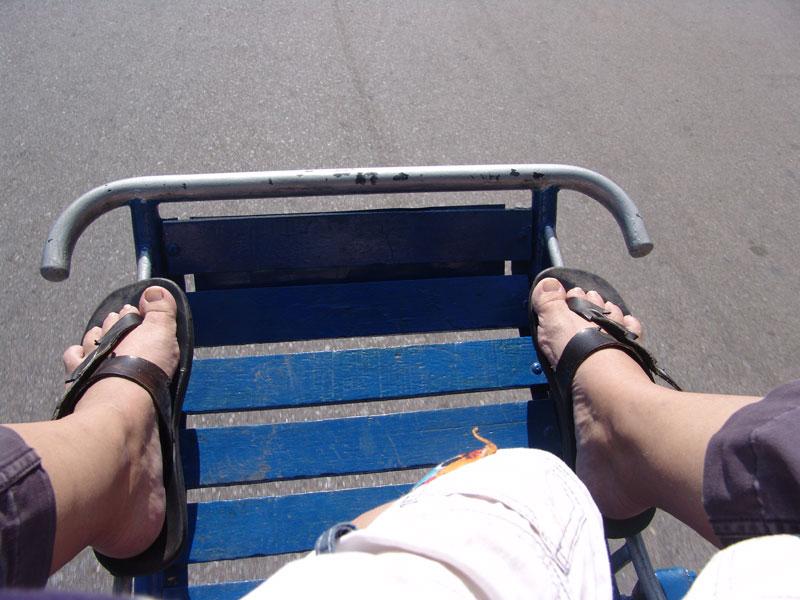 Cyclo Fahrt in Phnom Penh - Kambodscha