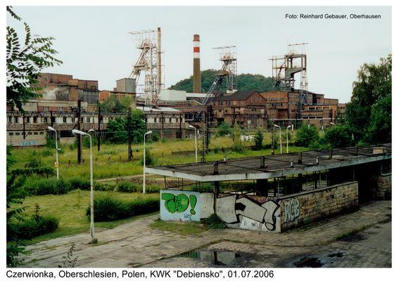 Czerwionka, Oberschlesien, Polen, KWK Debiensko, 01-07-2006