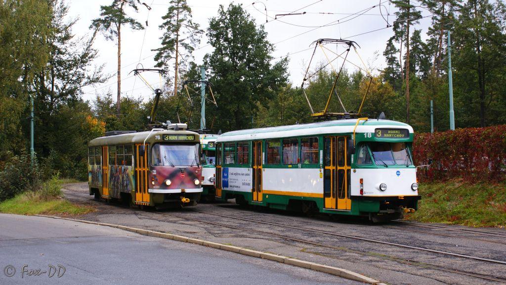 [CZ/Liberec] T2-Trakt und T3