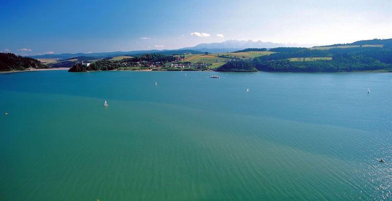 Czorsztyn Lake Poland
