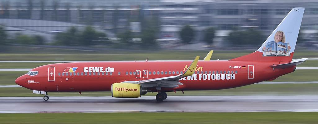 D-AHFZ - TUIfly - CEWE Fotobuch - Boeing 737