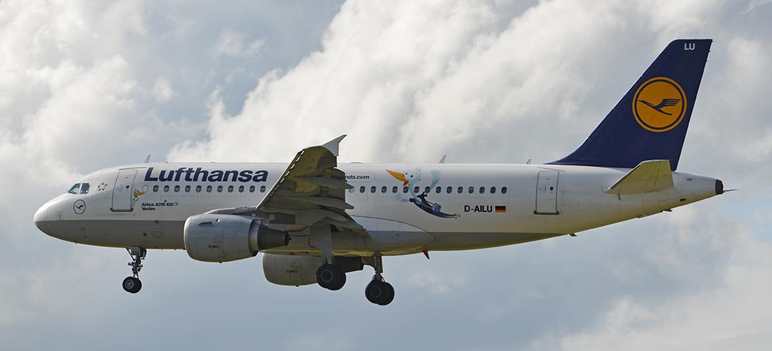D-AILU - Lufthansa - Airbus A319