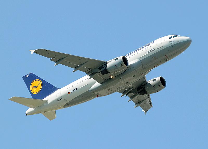 D-AILW - Lufthansa Airbus A319-114