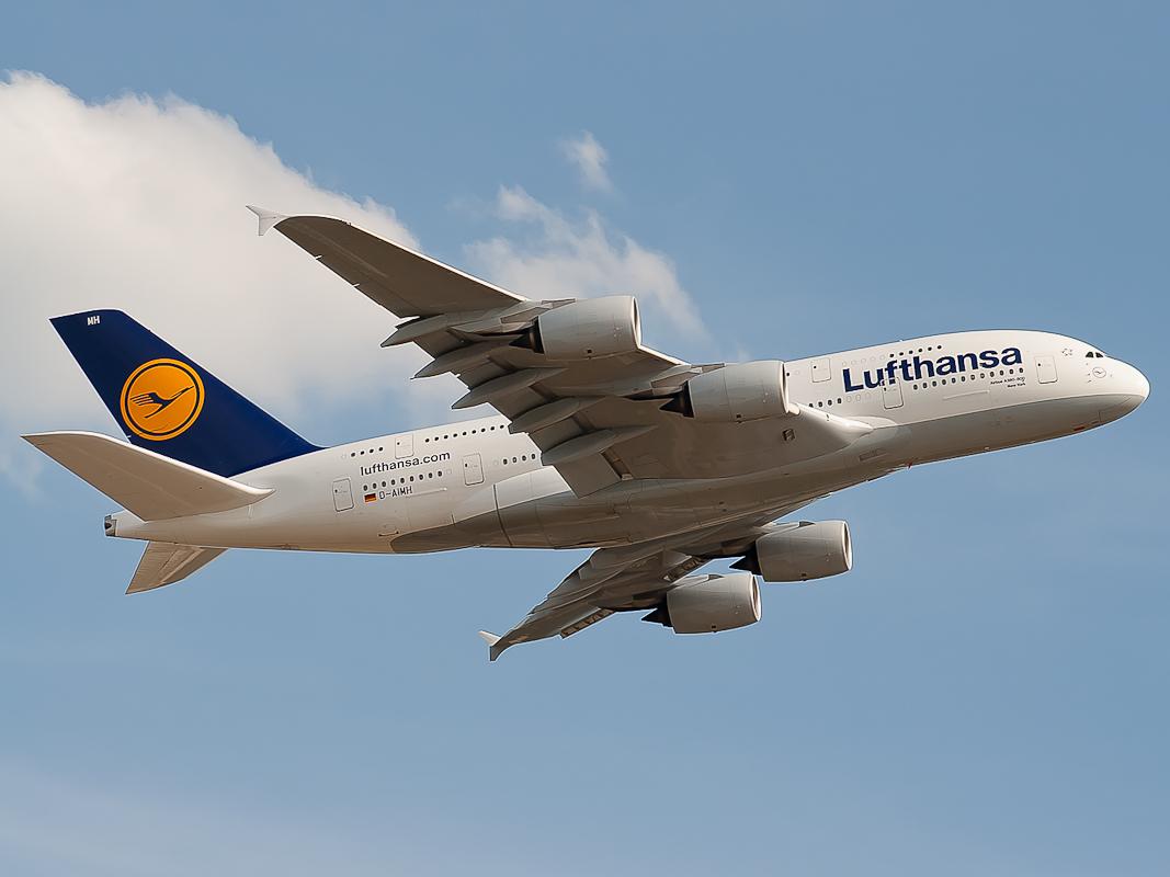 D-AIMH Lufthansa A380-800 NewYork