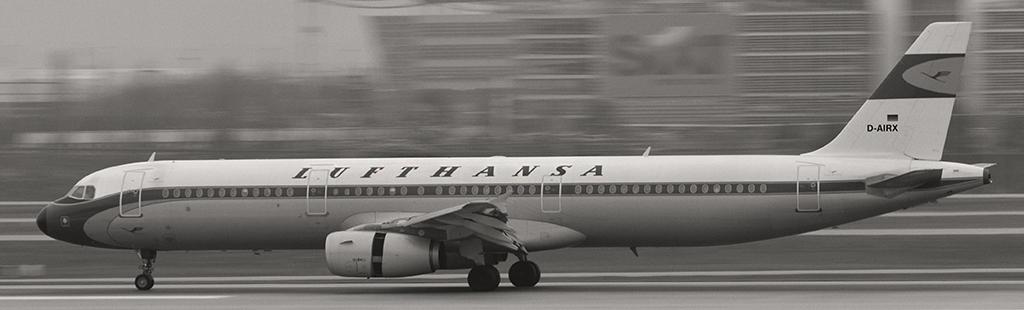 D-AIRX - Lufthansa - Airbus A321
