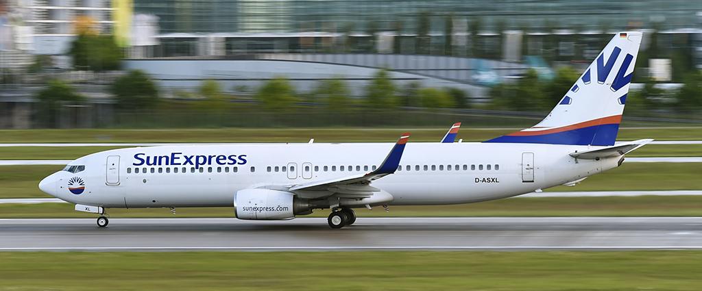 D-ASXL - SunExpress - Boeing 737
