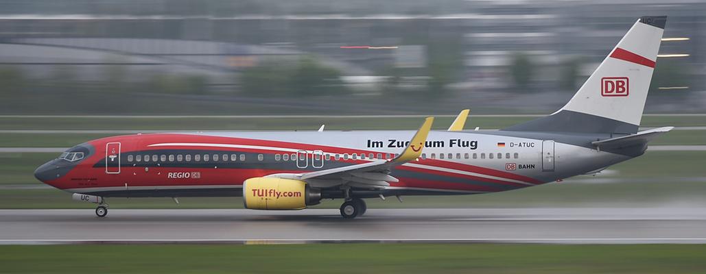 D-ATUC - TUIfly - Boeing 737 - Im Zug zum Flug