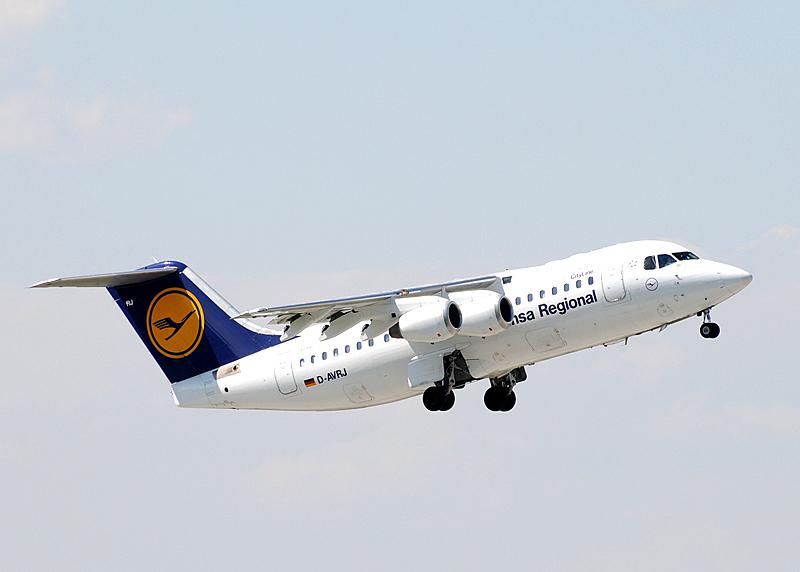 D-AVRJ - Lufthansa Regional (CityLine) Avro Regional Jet RJ85