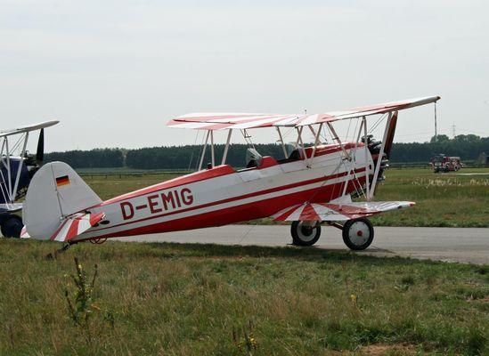 D-EMIG  Focke-Wulf Fw 44J Stieglitz -Baujahr:1937-