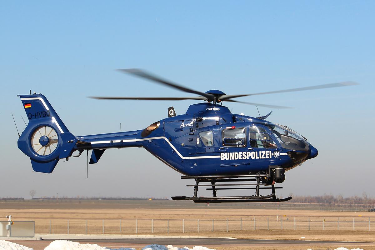 D-HVBQ EC135 T2+ der Bundespolizei