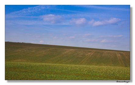 April: unendliche Felder