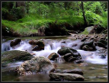 Bach, Fluss & See