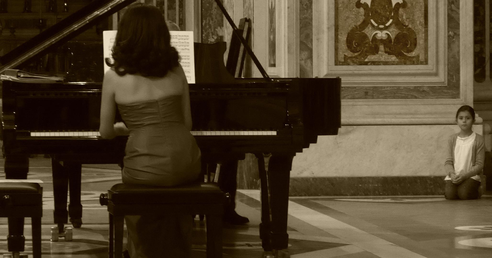 Da grande voglio fare la pianista
