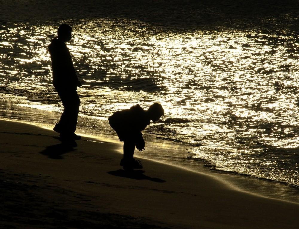 ... da hört das Meer auf...
