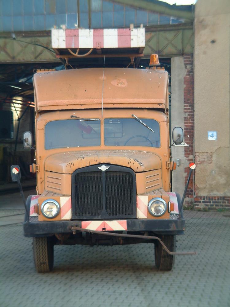 Da ist ein ehemaliger turmwagen des NVK.4