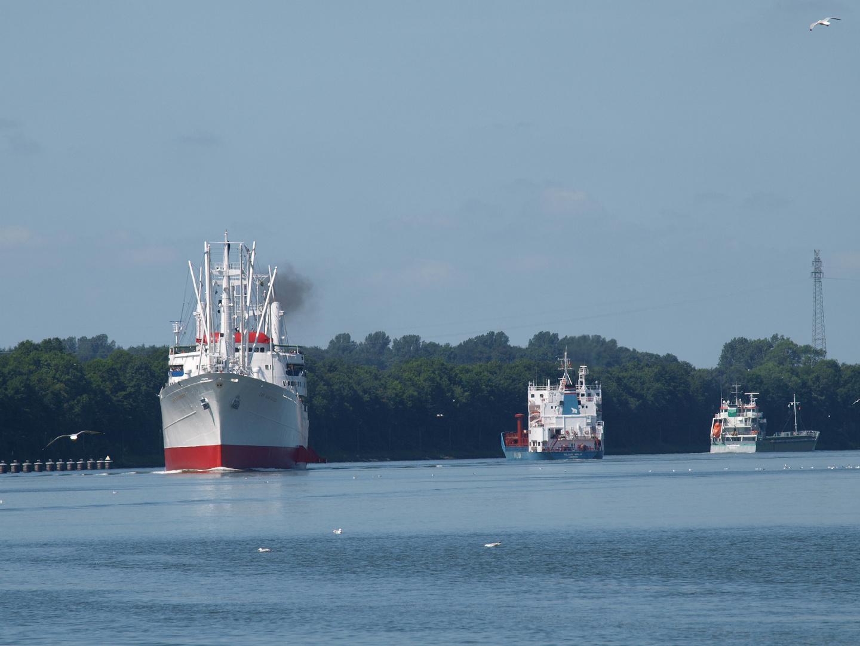 """Da kommt etwas """"Besonderes"""" auf dem Nord-Ostsee-Kanal!"""