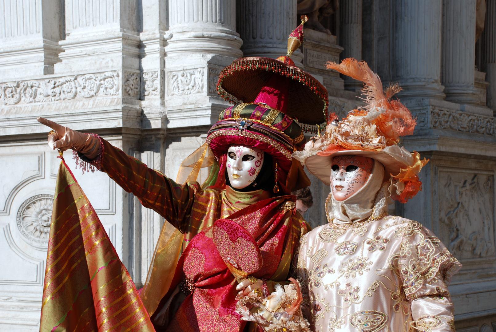 da schau, der Carnevale naht ...