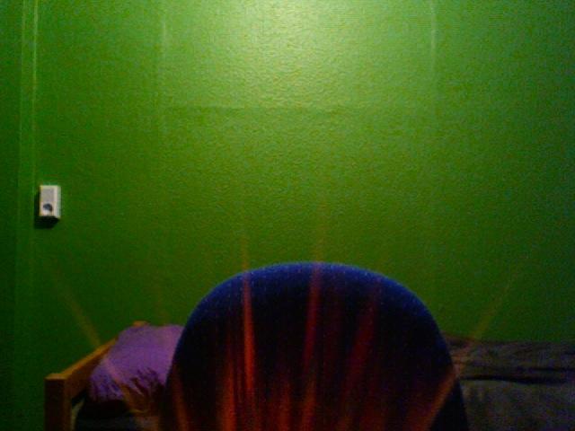 Da sitzt ein Licht auf meinem Stuhl