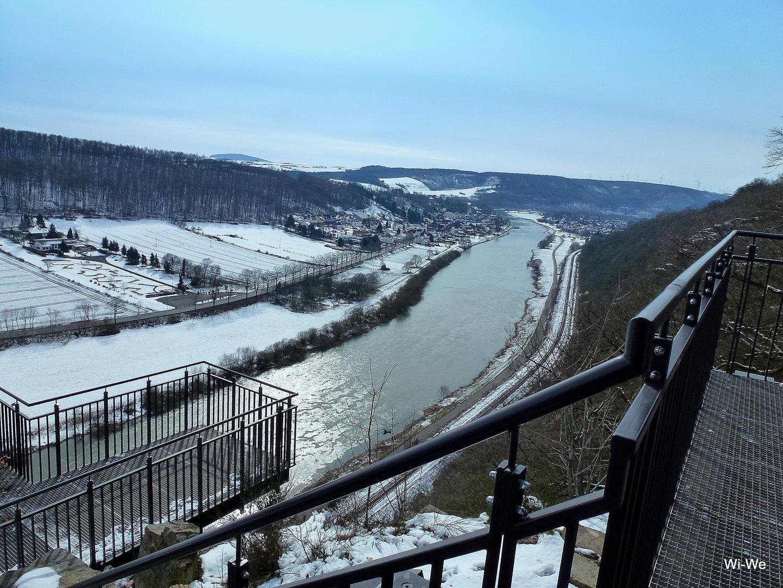 -Da unten fließt die Weser-