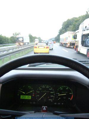 Da wärste mit nem Carrera GT auch nicht schneller...