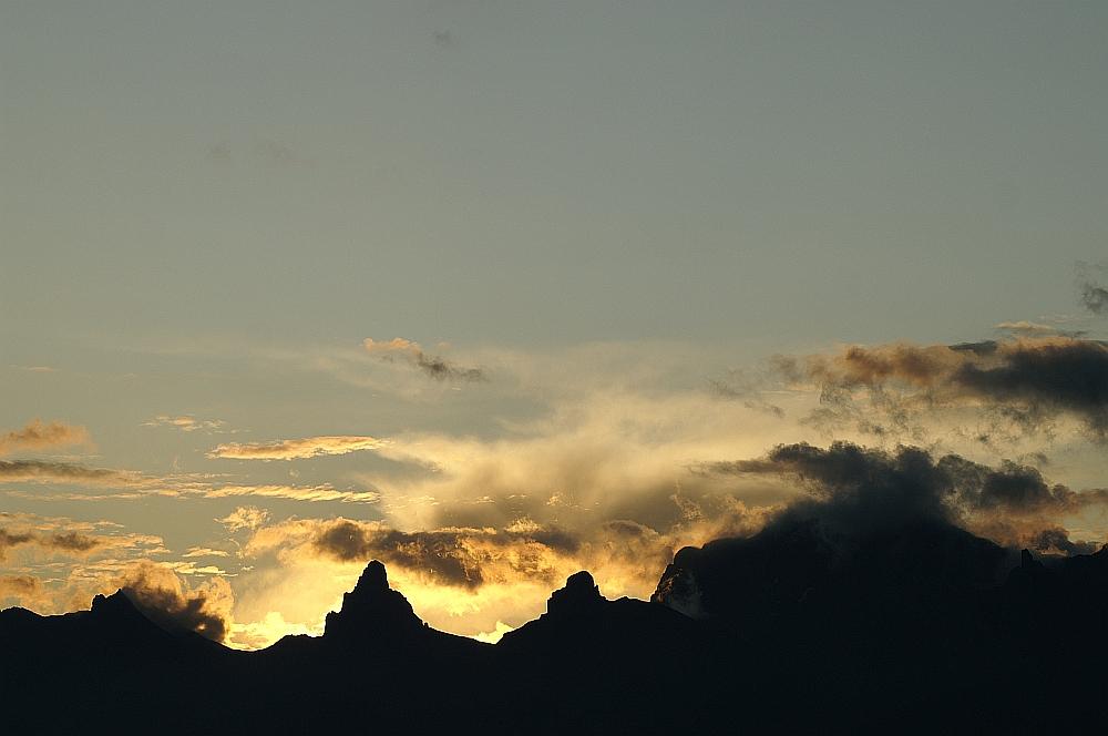 da wo die berge leuchten....