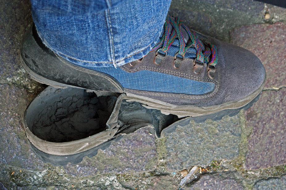 Da zieht es einem die Schuhe aus..........