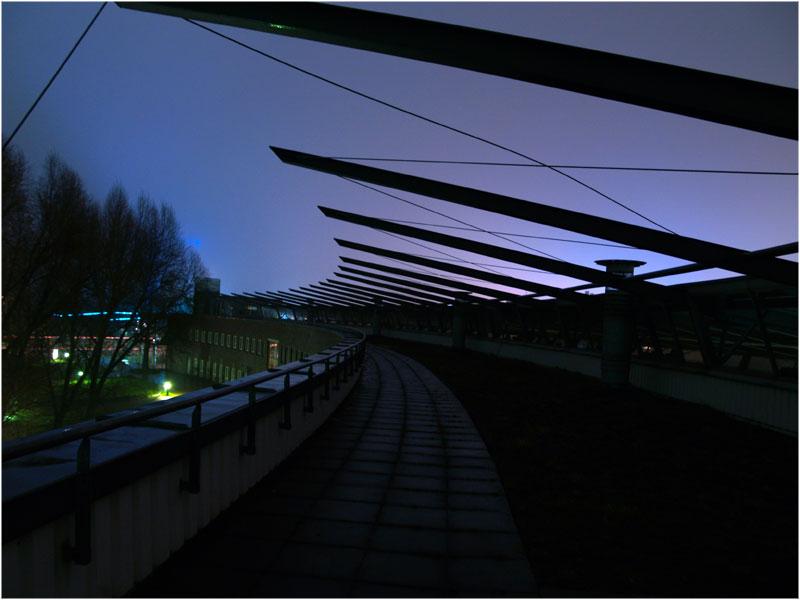 Dach bei nacht