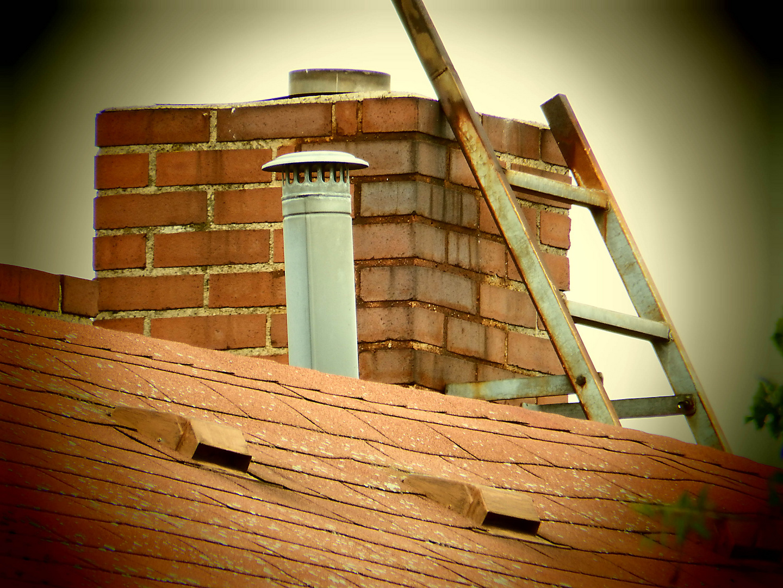 Dach Kamin Leiter