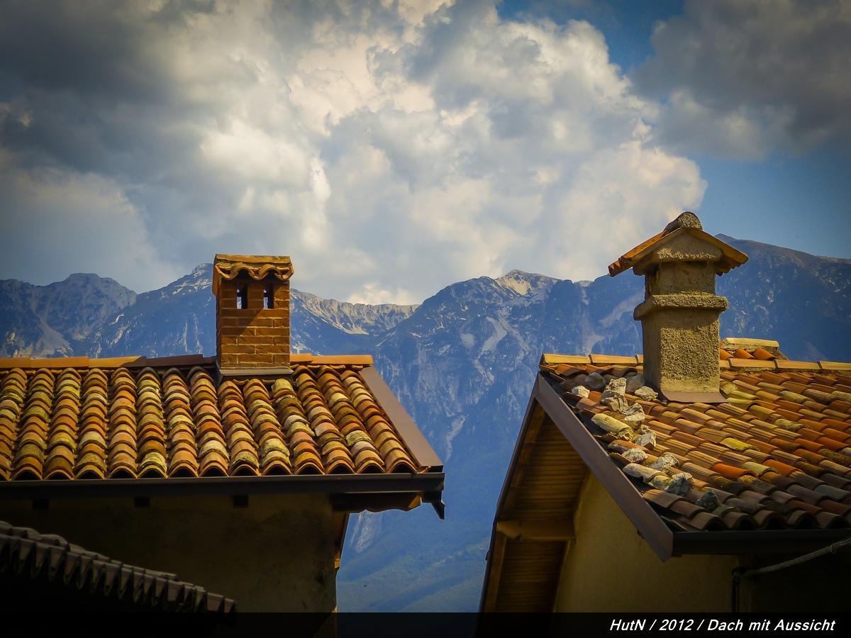 Dach mit Aussicht