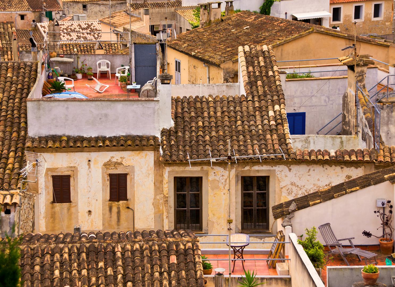 Dach-Terrassen