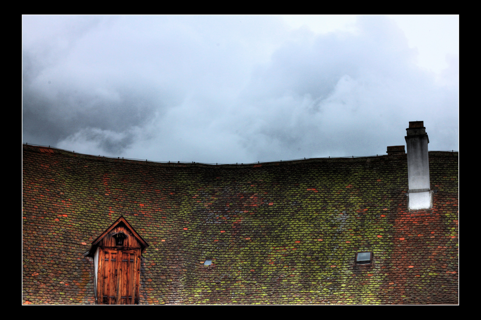 Dach von Schloss Drosenburg
