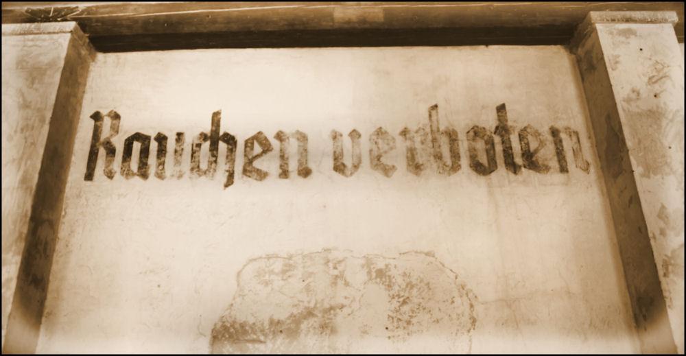 Dachau - Rauchen verboten