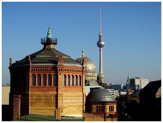 dachausblick berlin-mitte