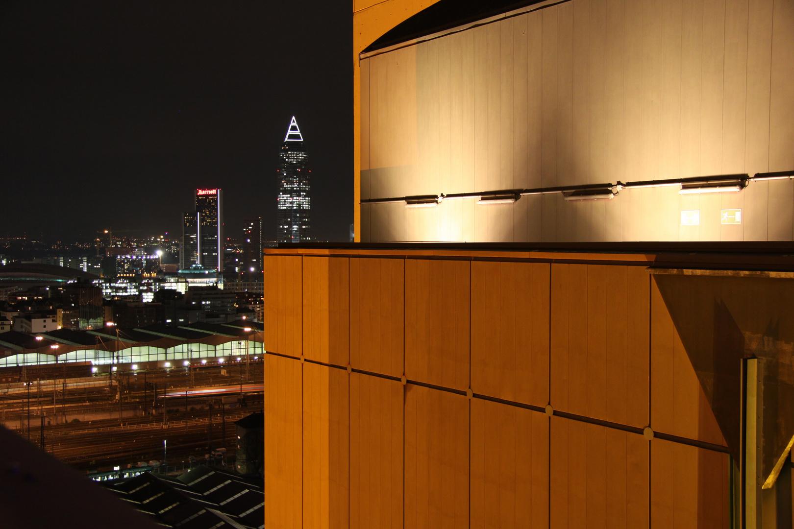 Dachbeleuchtung des HKW West....