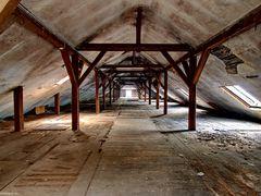 Dachboden der Scheidt'schen Tuchfabrik
