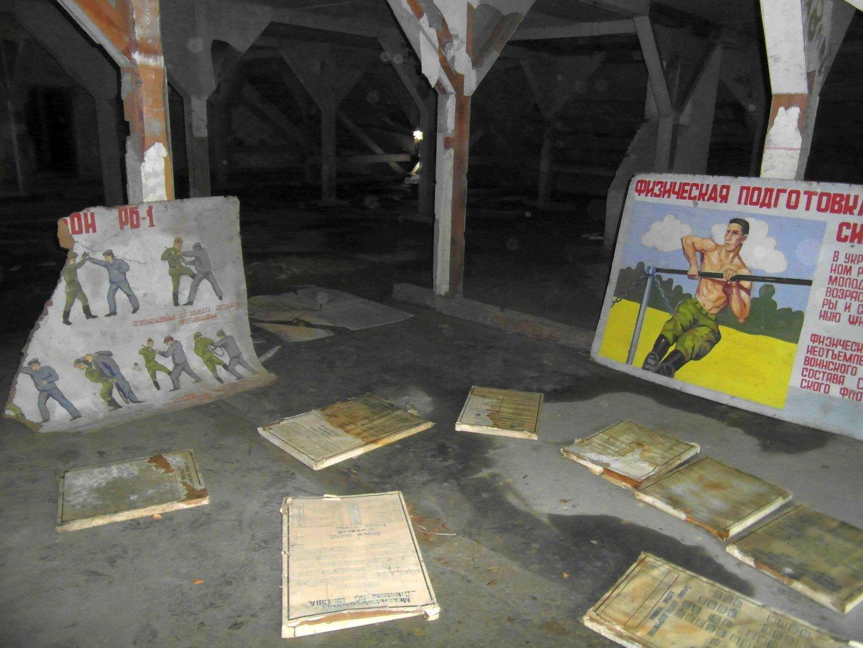 Dachboden einer sowjetischen Kaserne bei Potsdam