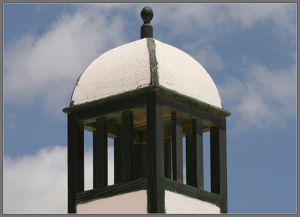 Dachdetail - Lanzarote
