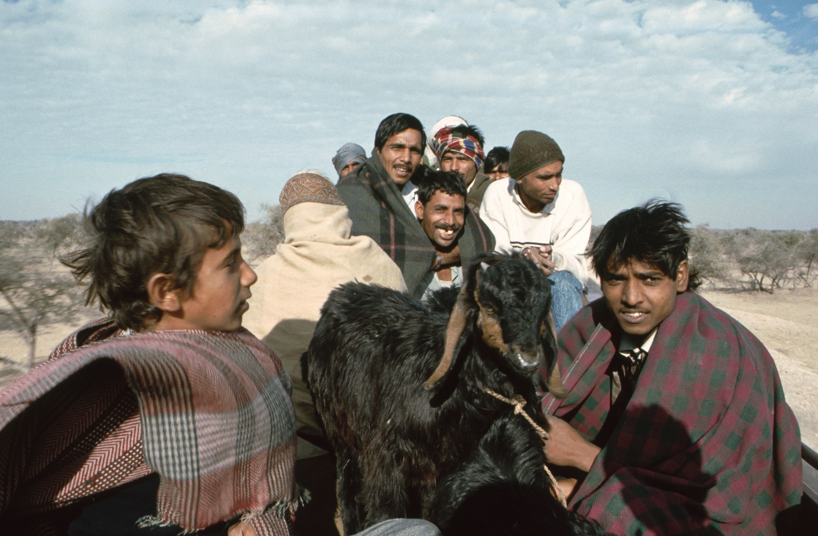 Dachfahrt, Rajasthan 1994
