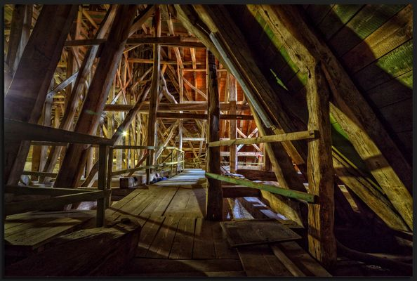 Dachkonstruktion #1
