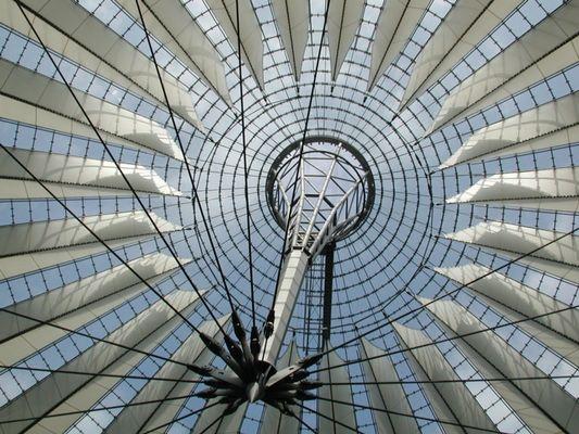 Dachkonstruktion am Potsdamer Platz, Berlin (II)