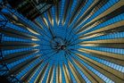 Dachkonstruktion im Sony Center, Berlin
