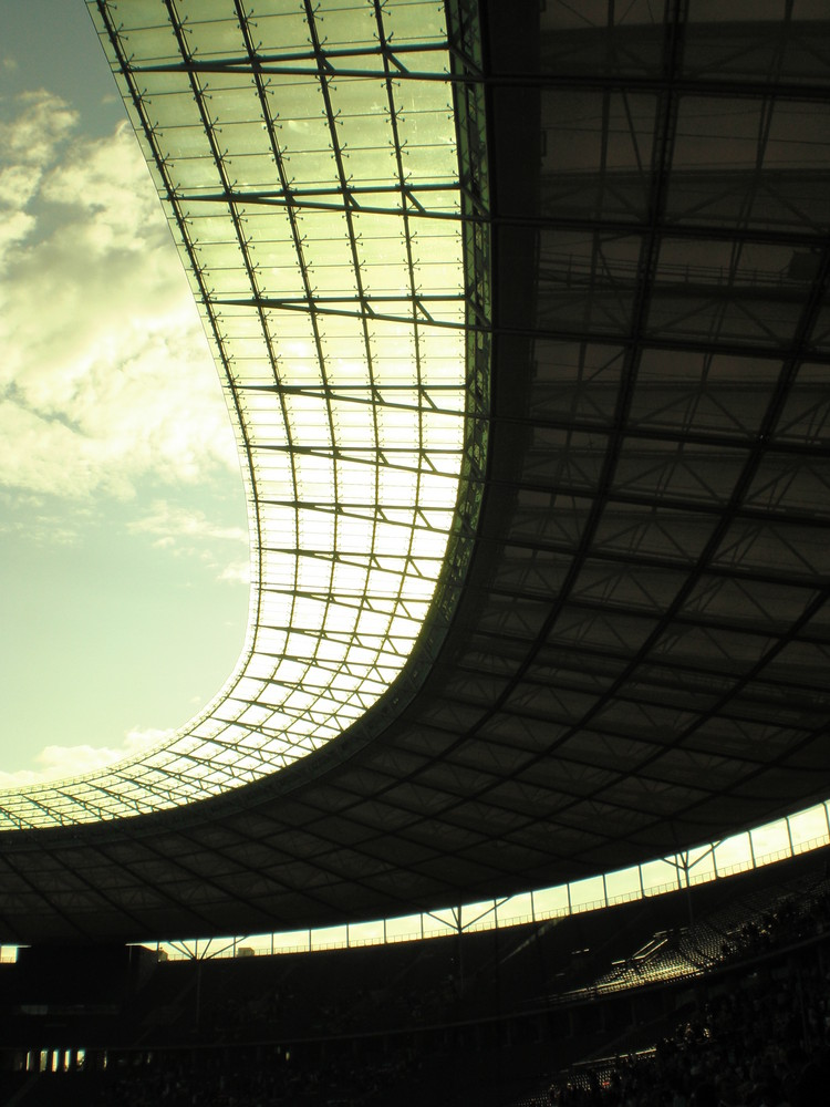Dachkonstruktion Olympiastadion Berlin