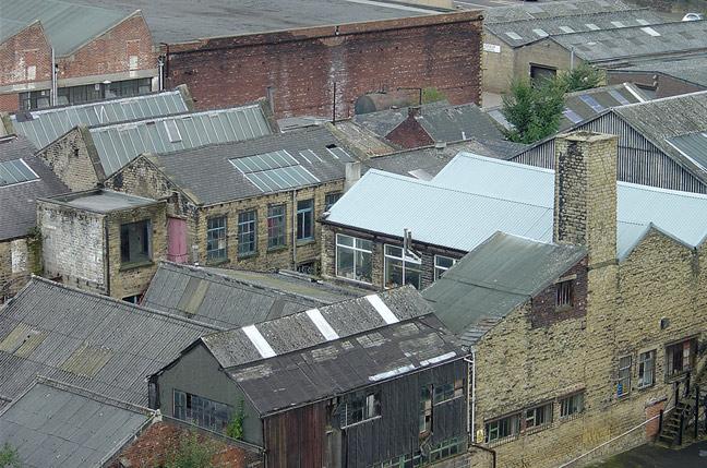 Dachlandschaft, Huddersfield
