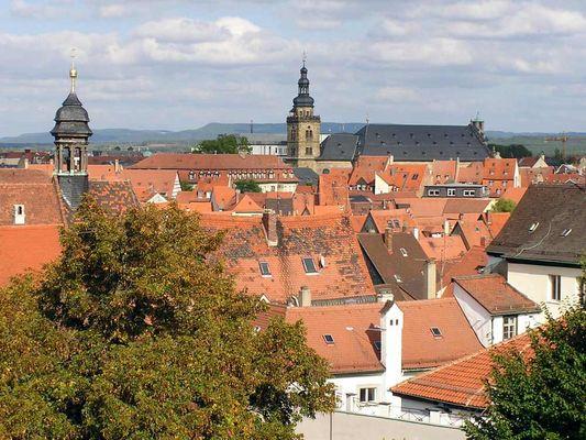 Dachlandschaft in Bamberg